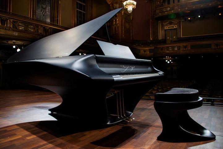 The Bognyi Piano Website Via Dezeen Slate