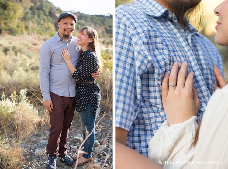 Woodsy Engagement Pictures