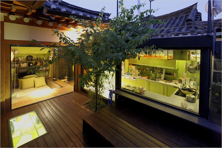 Traditional korean house layout