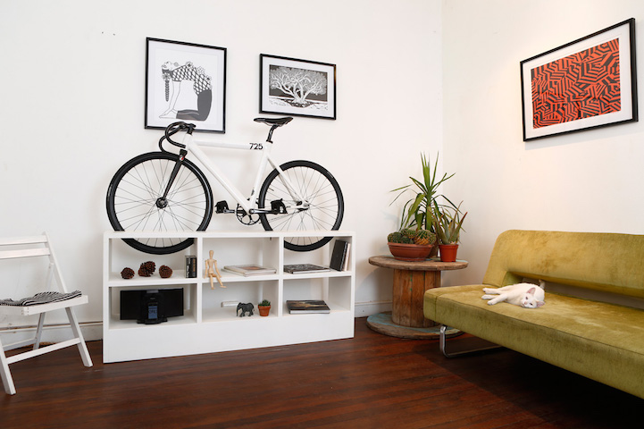 Clever Furniture Designed To Double As Bike Rack Save E In Small Apartments