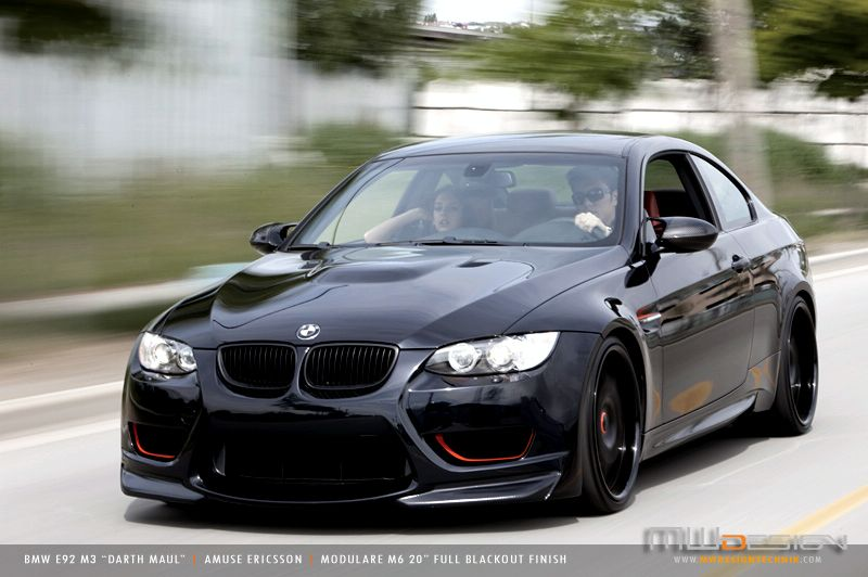 Darth Maul - A Tricked Out BMW M3