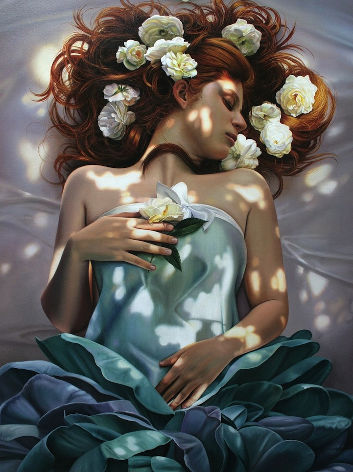 Gorgeous Lifelike Oil Paintings Mimic Photographs