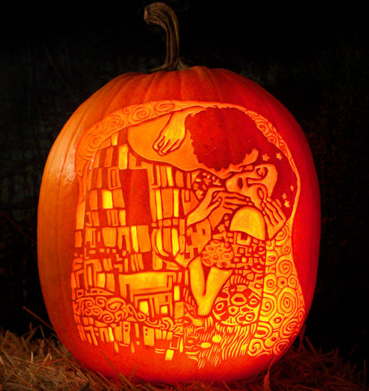 Creative pumpkin carvings inspired by famous art