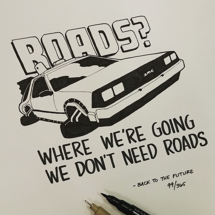 Tattoo Historical Quotes: Artist Illustrates A Different Famous Movie Quote Every