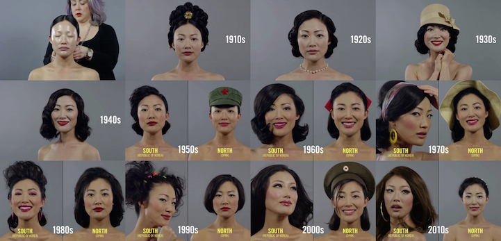 Different Perceptions Of Beauty Over 100 Years In North And South Korea
