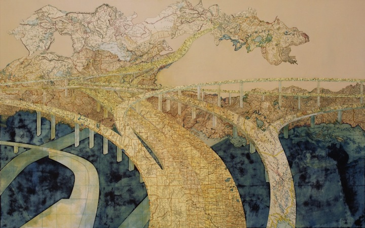 More Magnificent Map Collages (6 pieces + interview) on map slide show, map travel, map facebook covers, map creator, map pencil, map in india, map gift tags, map in europe, map still life, map de france, map making, map of college football teams, map major rivers in australia, map with mountains, map with states, map distance between cities, map of dallas texas and surrounding areas, map vintage, map in spanish, map history,