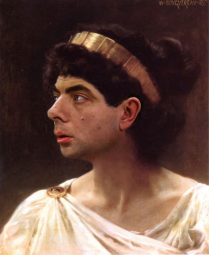 Mr Bean Hilariously Inserted Into Historical Paintings