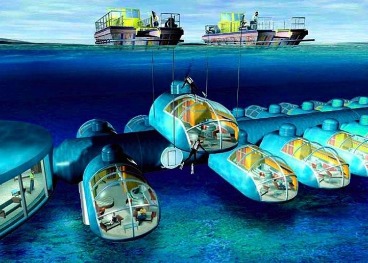 Fijis Spectacular Underwater Resort
