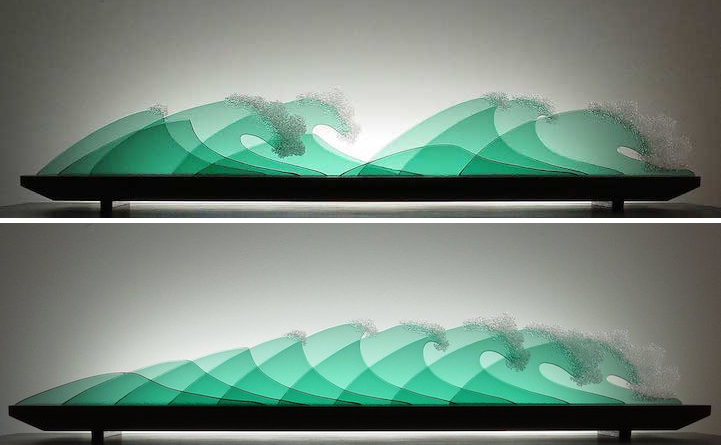 Rearrangeable Layers of Glass Form Stunning 3D Landscapes and ...