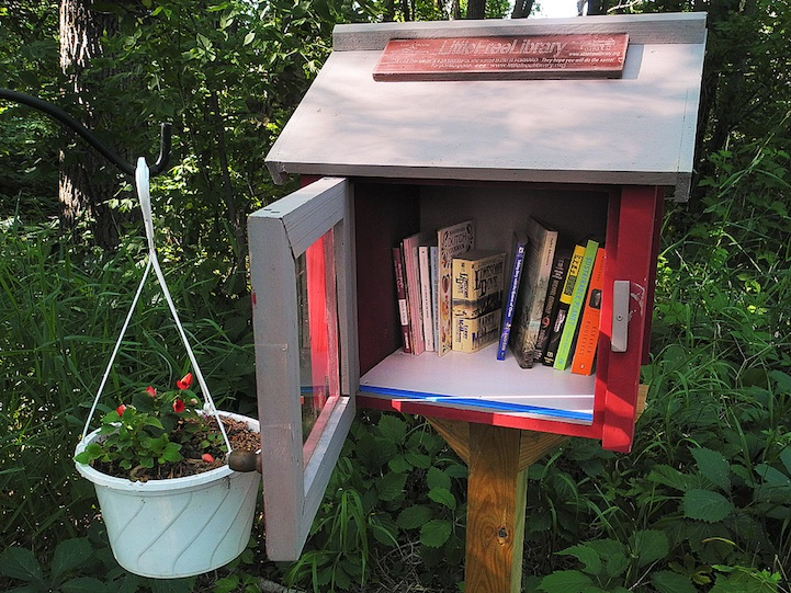 free little library page