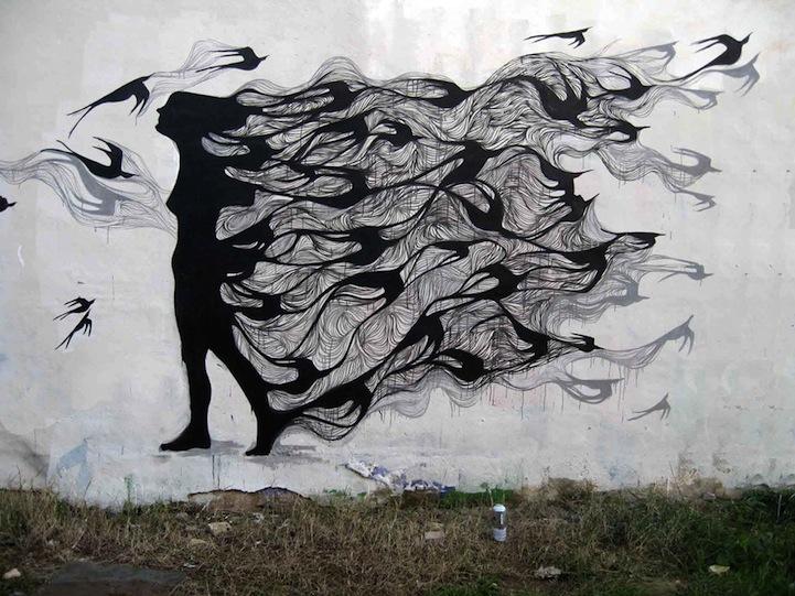 Super Urban Street Art: Hyuro (5 pieces) CX84