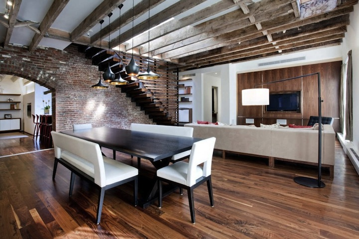 Loft Apartments In Manhattan. A+I Design Corp website