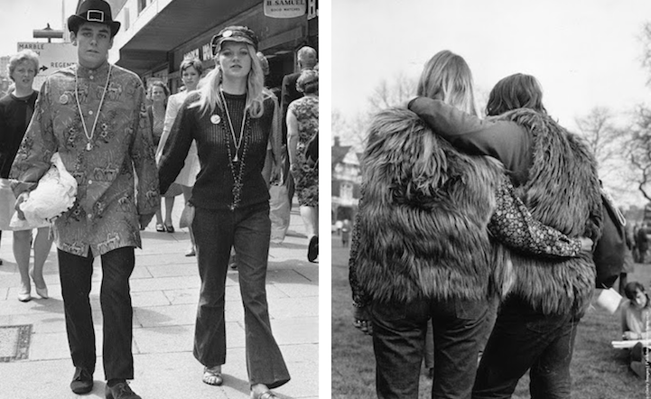 Hippie Fashion From The Late 1960s To 1970s Is A History