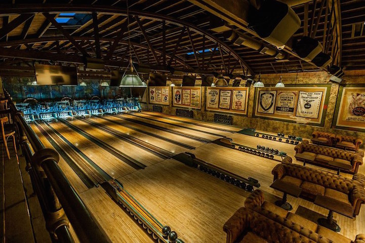 Vintage 1927 Bowling Alley Is Restored in Spectacular