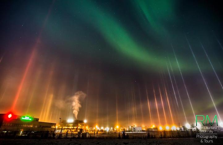 Rare Cold Weather Phenomenon Displays Mesmerizing Light