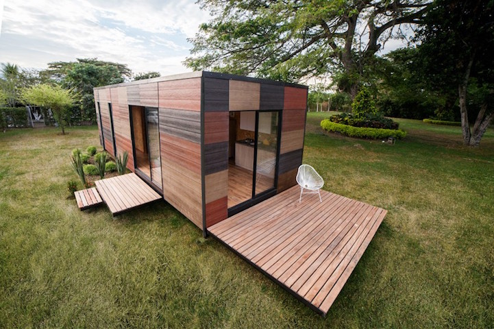 Delicieux Modular Mobile Home Offers Easy Transport And Assembly For Living  Off The Grid In Style