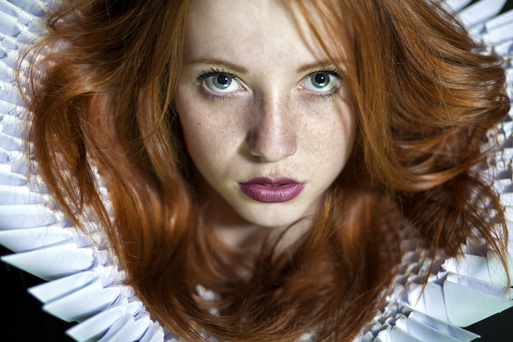 Naked Striking Redhead Teen 52