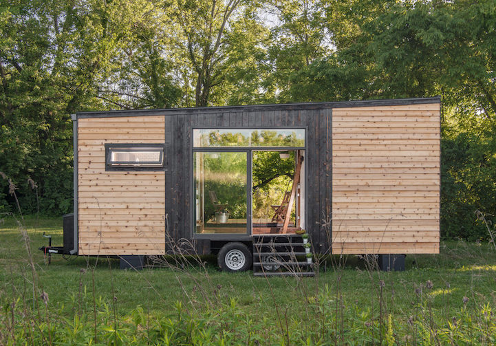 240 Square Foot Tiny Home Designed To Bring Modern Luxury Wherever You Go