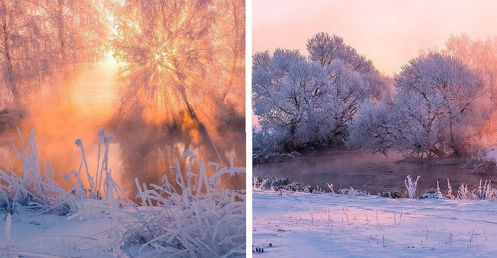 Photographer Captures Magnificent Beauty Of Radiant Winter Mornings