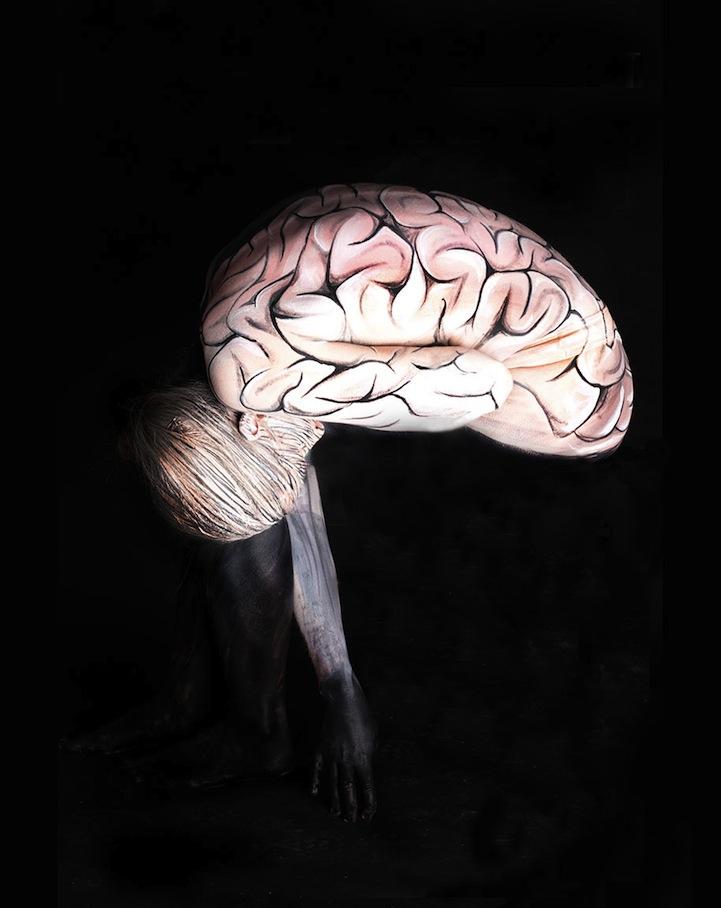 body illusion optical human transformation into gesine marwedel amazing