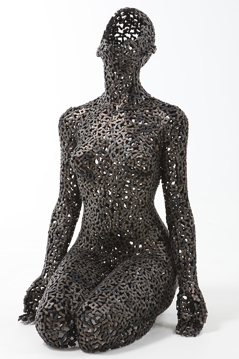 New Amazing Chain Link Sculptures By Young Deok Seo