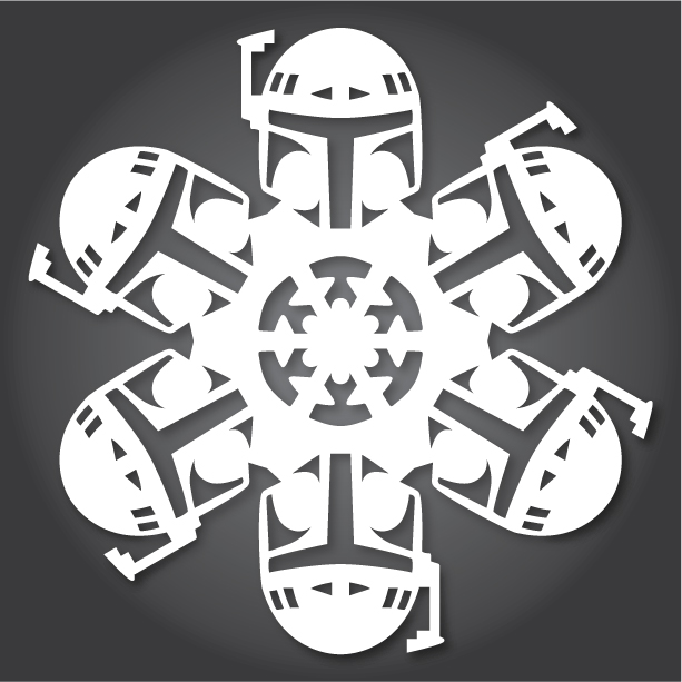 Star Wars Snowflakes Are The Perfect Diy Holiday Project