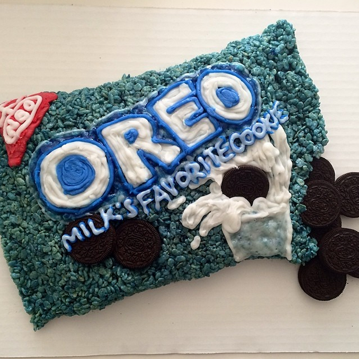 Rice krispies treats sculpted into playful pop culture designs ccuart Image collections