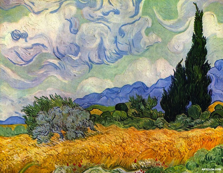 Van Gogh S Painting Recreated With 8 000 Plants