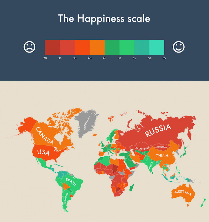 Infographic Visualizes Which Countries are the World's ...