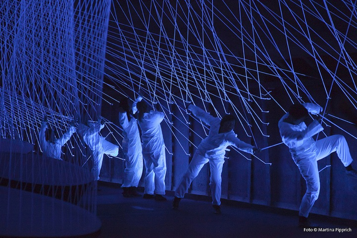 Interactive Light And Sound Installation Plays Like A Guitar