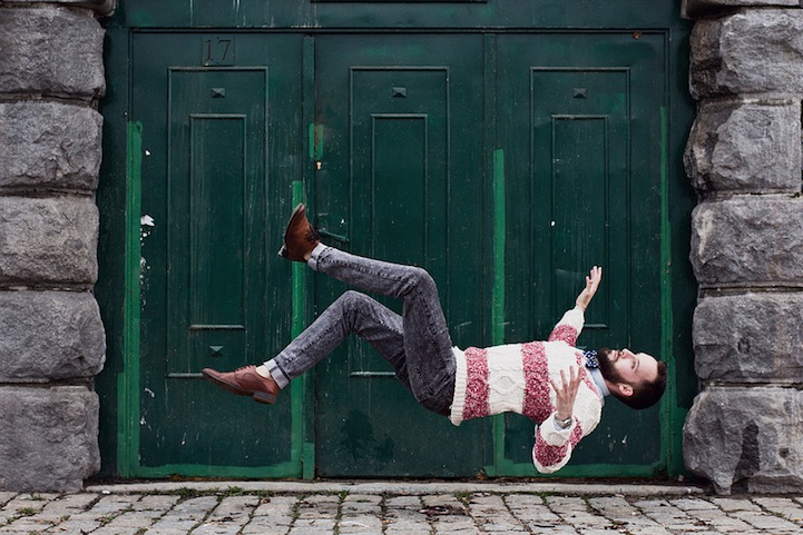 Gravity Defying Photos Of People Falling Calmly