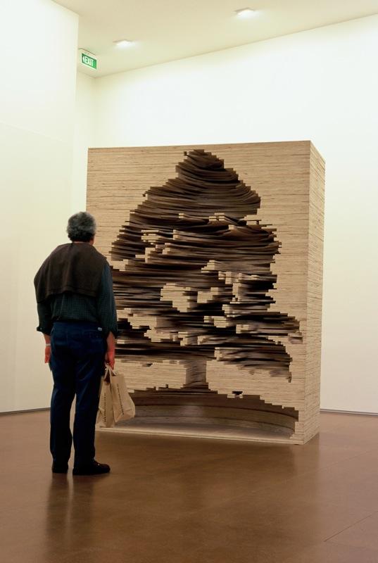 More Astounding Negative Space Book Sculptures