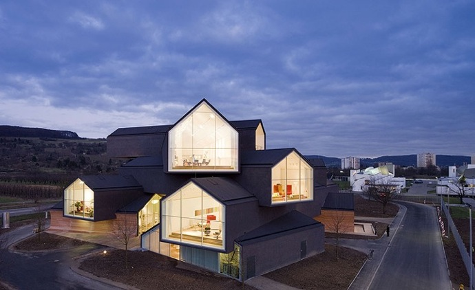 modern architecture stacked houses - Modern Architecture Houses