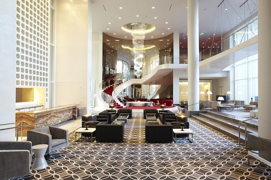 While it isn\u0027t the best of times yesterday Starwood still managed to open its doors for its newest addition W Hotel Hollywood. Costing $350 million ($600 ... & W Hotel Hollywood Opens Its Doors