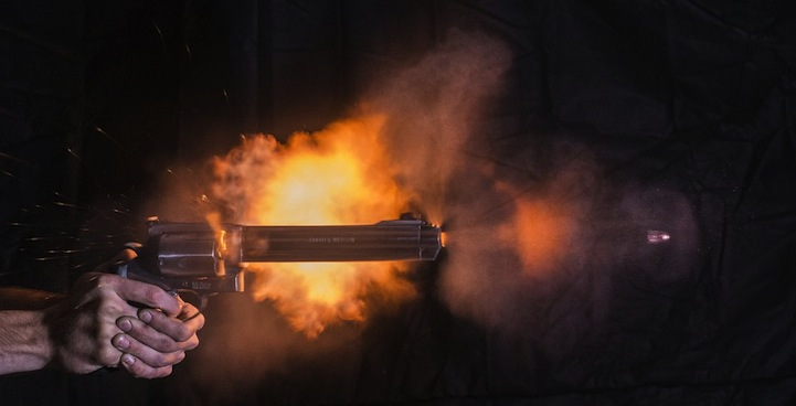 Incredible Photos Of High Speed Bullets Microseconds After