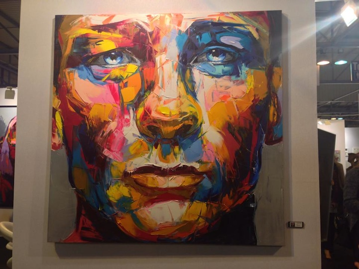 Stunning New Knife-Painted Portrait by Francoise Neilly