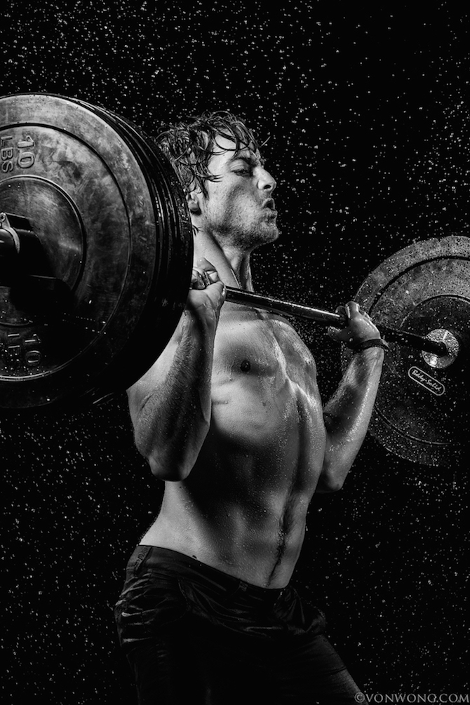 Photographer Transforms Ordinary People Into Super Athletes Using - Von wong gym shots