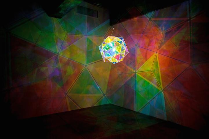 Mesmerizing Kaleidoscopic Glass Installations By Olafur