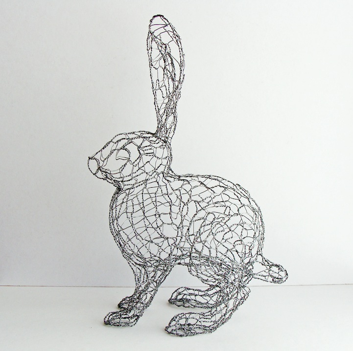 how to create a wire sculpture