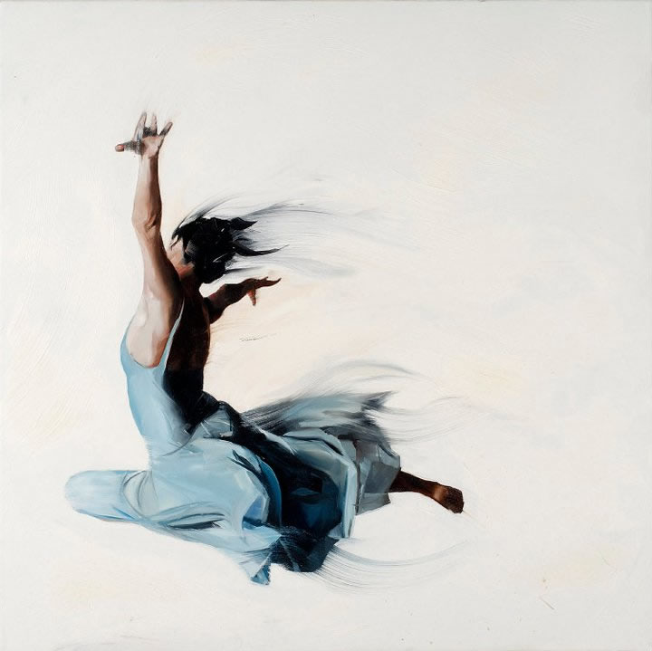 Beautiful Paintings Of The Expressive Body In Motion