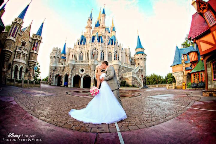 Disney World Offers New Wedding Experience Letting Brides ...