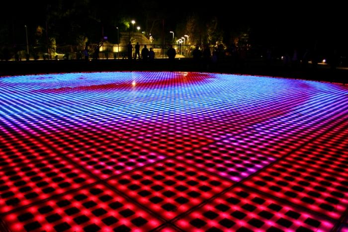 Croatia S Solar Powered Interactive Light Installation