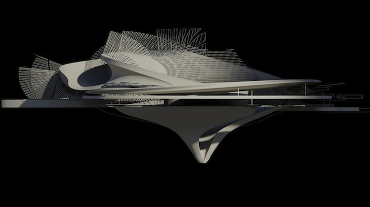 Futuristic House Design Concept Harnesses Energy From