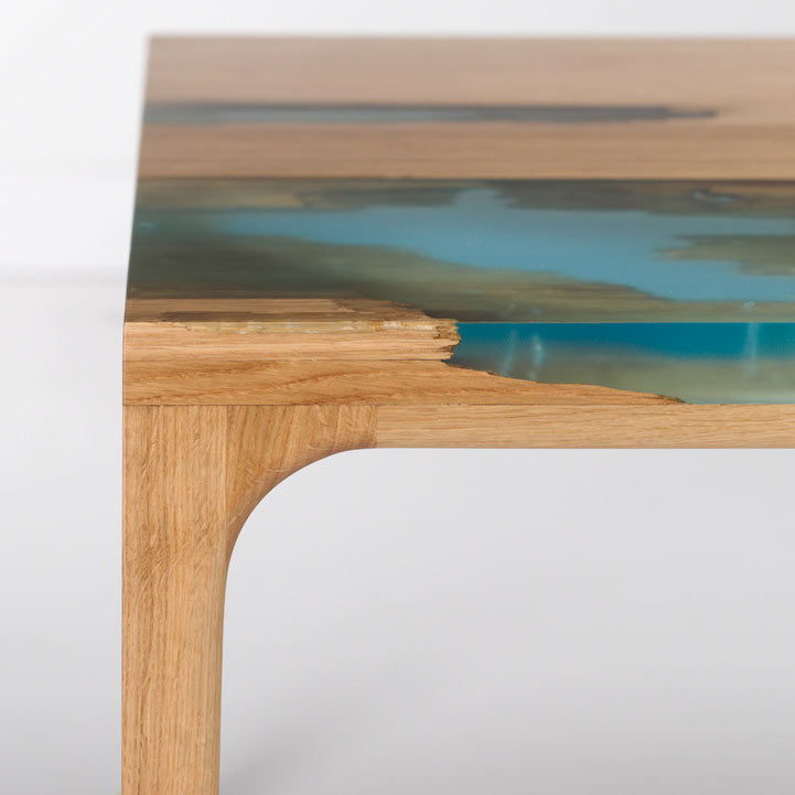 If Youu0027re Interested In The Construction Process, Check Out How Mike Warren  Created A Similar DIY Table Using A Glow In The Dark Resin.