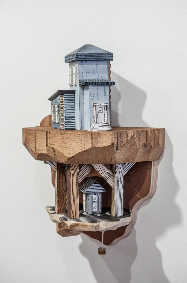Architectural Carvings Brings Illustrations To Life In
