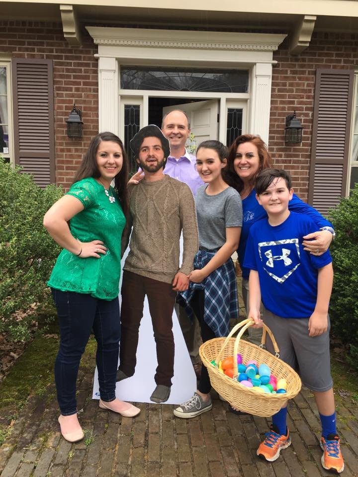 Son Pranks Family with Cardboard Cutout of Himself, Mom Brilliantly