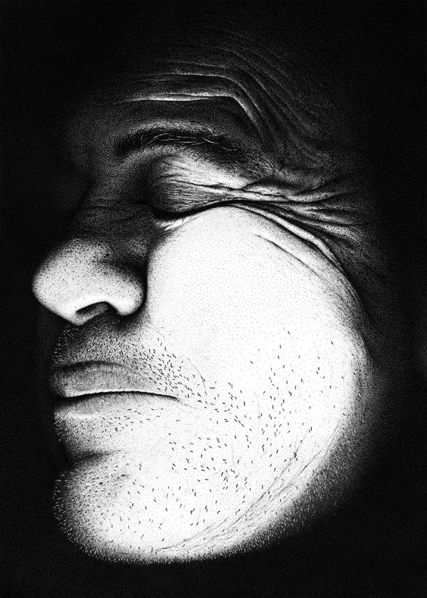 Mind Boggling 3 Million Dot Portrait