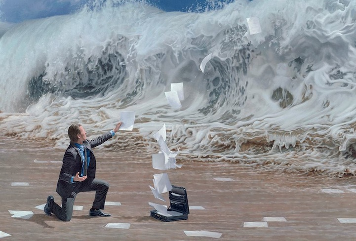 Powerfully Captivating Surreal Oil Paintings By Joel Rea