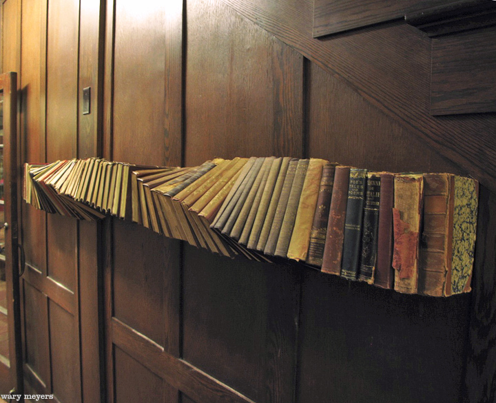 Magical Twisting Bookshelf Awakens Child Like Imagination
