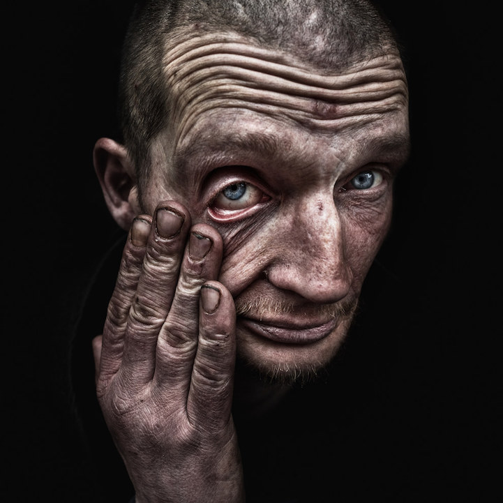 Homeless People Portraits Photography By Lee Jeffries: Interview: Powerfully Raw Portraits Of Homeless People By